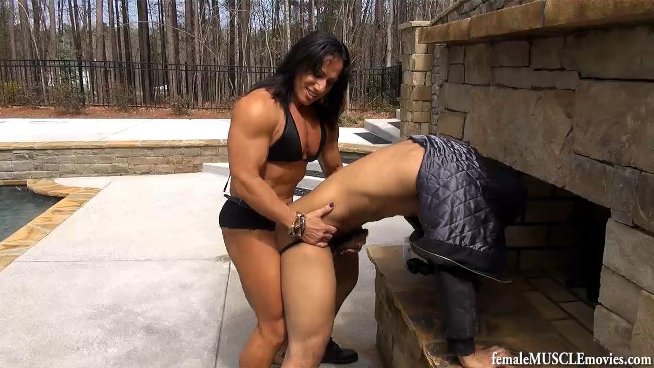 fisting female bodybuilders